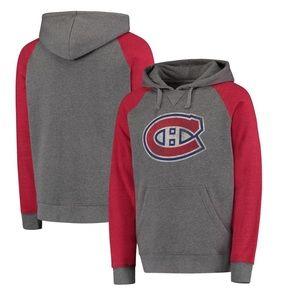 Montreal Canadiens Distressed Primary Hoodie